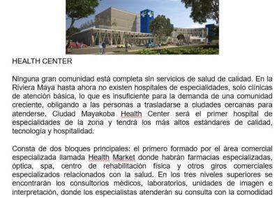 HEALTH CENTER1